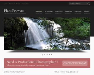 PhotoProwess Website Template  Web Site Design Arizona| #WebDesignArizona #webdesign #Website #Templatedesign