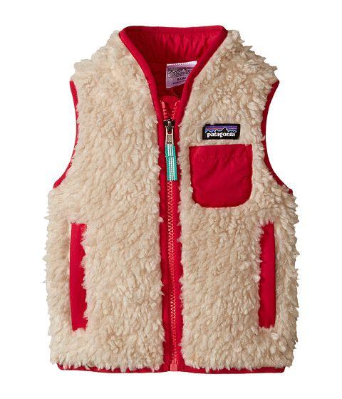 Patagonia Kids Baby Retro-X™ Vest (Infant/Toddler) Natural/Portofino Pink - Zappos.com Free Shipping BOTH Ways