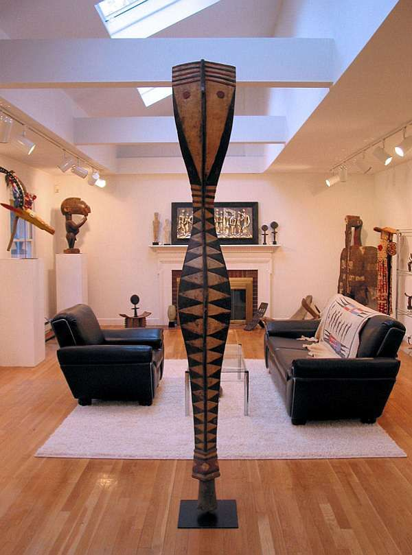 African Style Warm Living Room   African Furniture U0026 African Decorating  Ideas Part 44