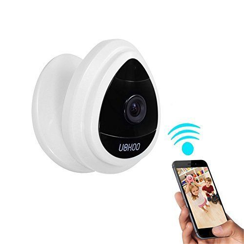 Review - Mini IP Camera, UOKOO Home WiFi Security Surveillance Camera System Remotely Access with Motion Email Alert White