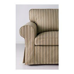 EKTORP Divano a 3 posti - Linghem marrone chiaro/riga - IKEA