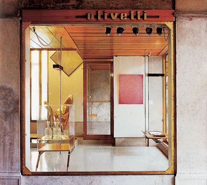 flagship store in venice designed by Carlo Scarpa