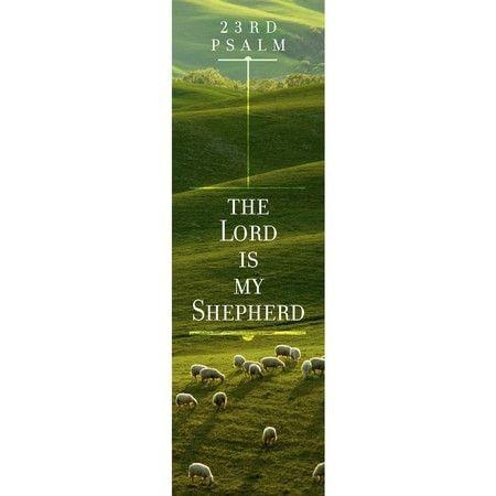 The Lord is My Shepherd (Psalm 23, KJV) Bookmarks, 25