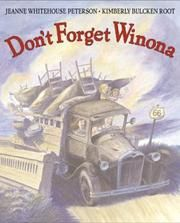 Cover of: Don't forget Winona by Jeanne Whitehouse Peterson