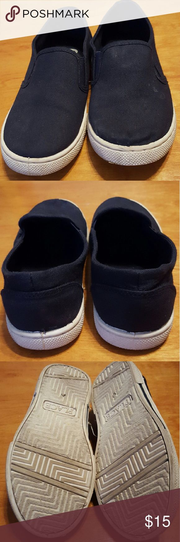 Children's Place little boys loafers size 2 Navy blue boys shoes. Only worn once for a music program at school. Very cute. Children's Place Shoes Dress Shoes