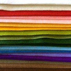 Wool Felt - Single Pieces