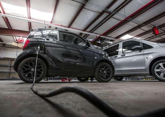 Hitzewellen: Smart Electric Drive | Blick