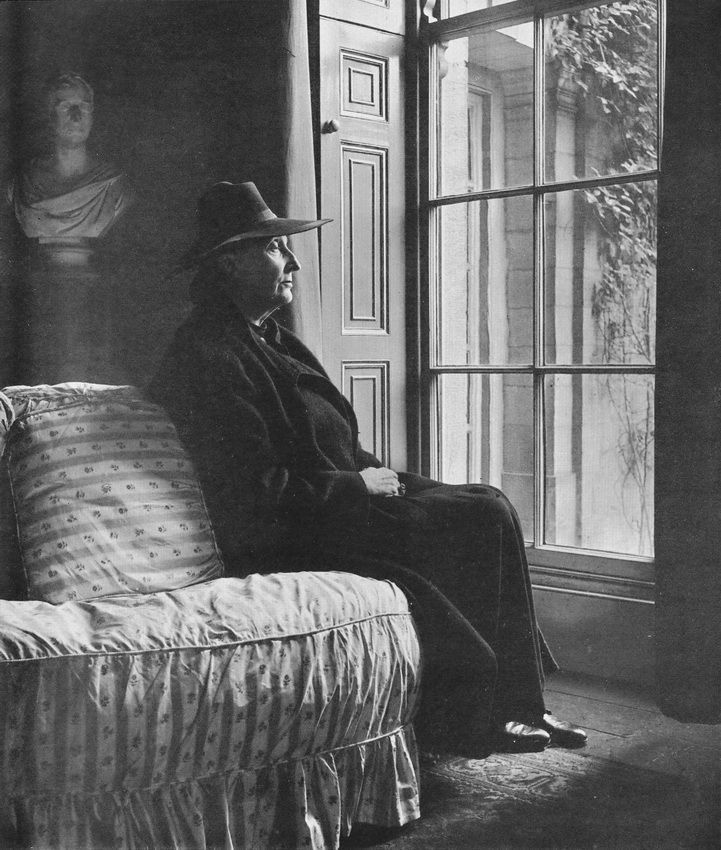 Writer Edith Sitwell, 1950s Photographer: Bill Brandt