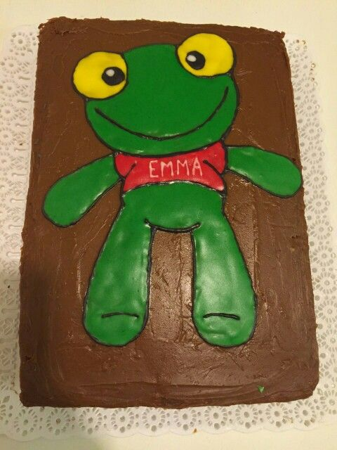 Torta de cumpleaños de Sapo Pepe