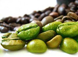 Groene koffiebonen bevatten chlorogeenzuur. Dat is een antioxidant die helpt om sneller gewicht te verliezen door de manier waarop het lichaam vet metaboliseert te beïnvloeden. Dit zuur verlaagt tevens de snelheid waarmee glucose wordt vrijgegeven in de bloedstroom. Dankzij deze eigenschappen zijn koffiebonen nuttig voor een gewichtsverliesregime.