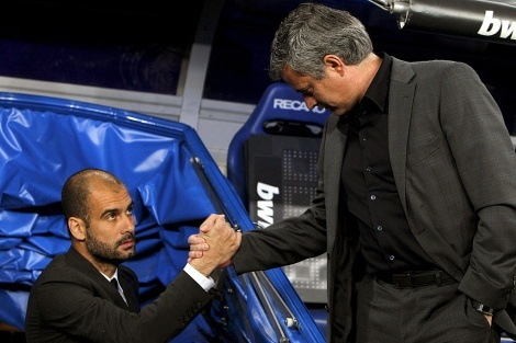 """Guardiola and Mourinho to comment together the Euro 2012 in Mexican television """"Televisa""""?"""