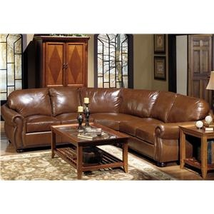 Leather Sectional Sofas Sectional Sofas And Jackson