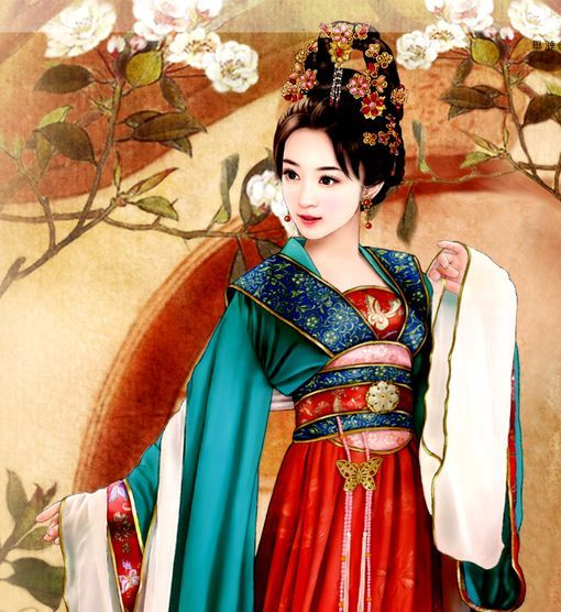 Image result for beautiful chinese girl art