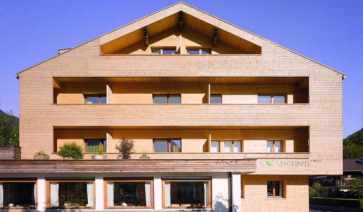 Biohotel Schwanen Bizau, renovated hotel, Austria, Vorarlberg