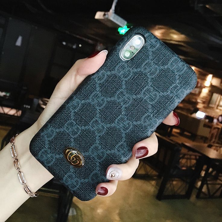 GUCCI IPHONE XS CASE OPHIDIA GG IPHONE 11 PRO CASE BLACK