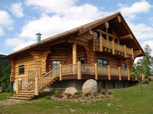 Wonderful Log Home