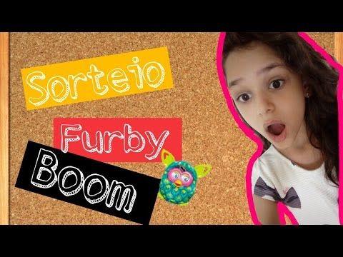 ALEGRIA DE VIVER E AMAR O QUE É BOM!!: [DIVULGAÇÃO DE SORTEIOS] - Meu Furby Boom…