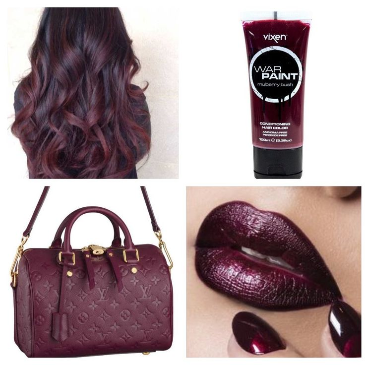 1000 ideas about deep burgundy hair color on pinterest - Deep burgundy paint color ...