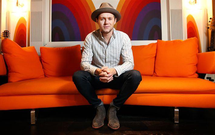 Hämta bilder Niall Horan, 4k, irländsk sångare, superstars, killar