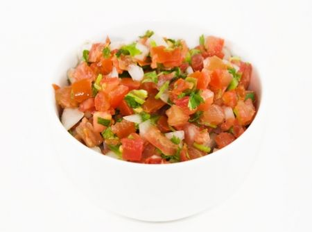 Salsa mexicana pico de gallo