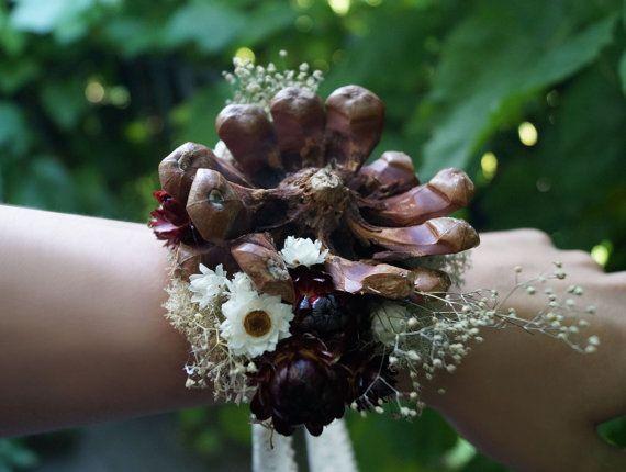 Wedding corsage Flower corsage For Weddings by WeddingDesignForYou