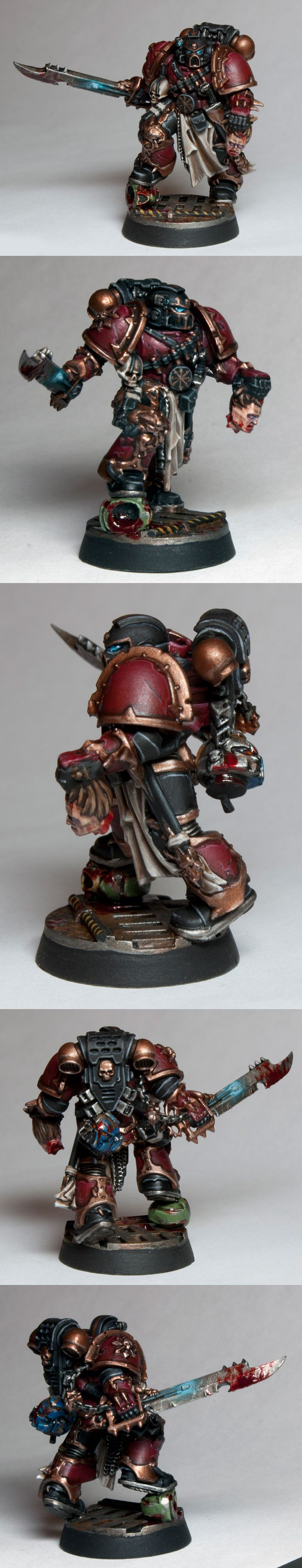 Chaos Space Marine Rouge