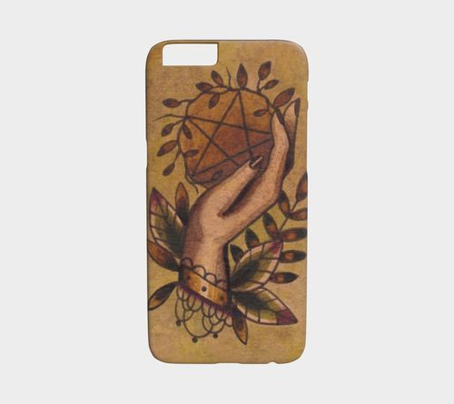 Ace of Pentacles Device Case by Alex Zgud by Studio Phi Tattoos