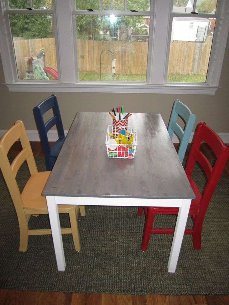 Ikea Hack Dinning Table To Kid S Play