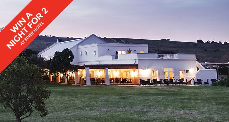 Win a night for two at Spier Hotel in Stellenbosch