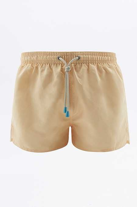 Oiler & Boiler Tuckernuck Yellow Shortie Swim Shorts
