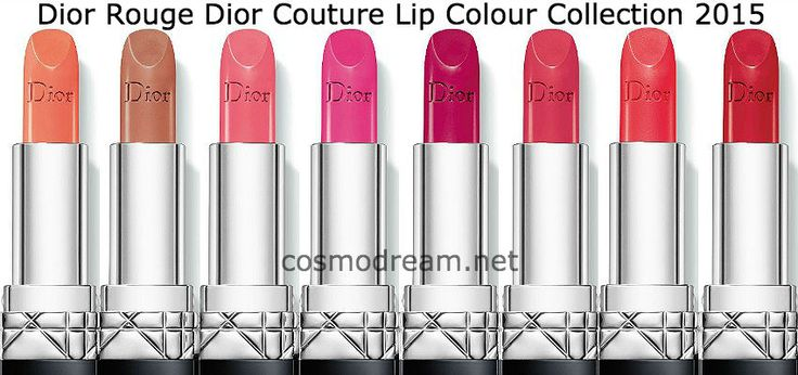 новые помад руж диор 2015 Dior Rouge Dior Couture Lip Colour 2015 collection shadows