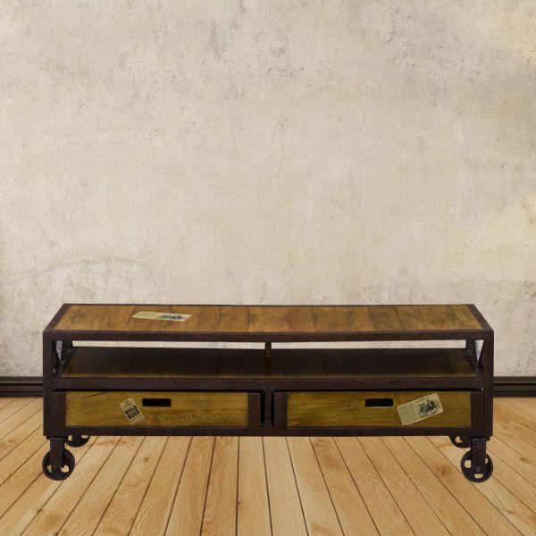 Tambahkan sentuhan seni di ruang keluarga Anda dengan TV Buffet 2 Drawers Casier yang fleksibel untuk di pindahkan ini. Info Pemesanan Telp. (0274) 4342 888 (Customer Service & Sales) Cek disini.. http://ow.ly/ZMKKg