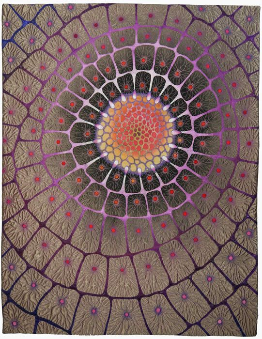 Incredible - betty busby art quilt