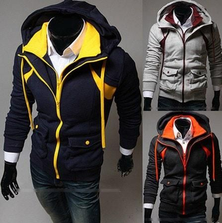 2016 Coloured Hooded Jacket
