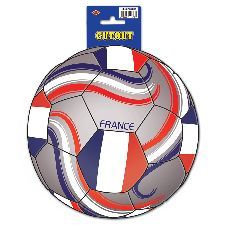 France Football Cutout. A fun decoration to add to the France football theme. http://www.novelties-direct.co.uk/France-Football-Cutout.html