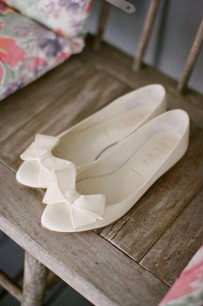 Baletas blancas