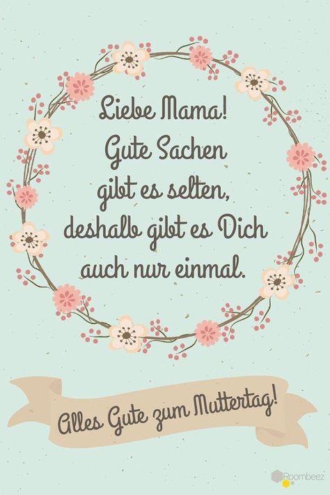 Muttertagsgedichte » 20 Muttertagssprüche zum Download