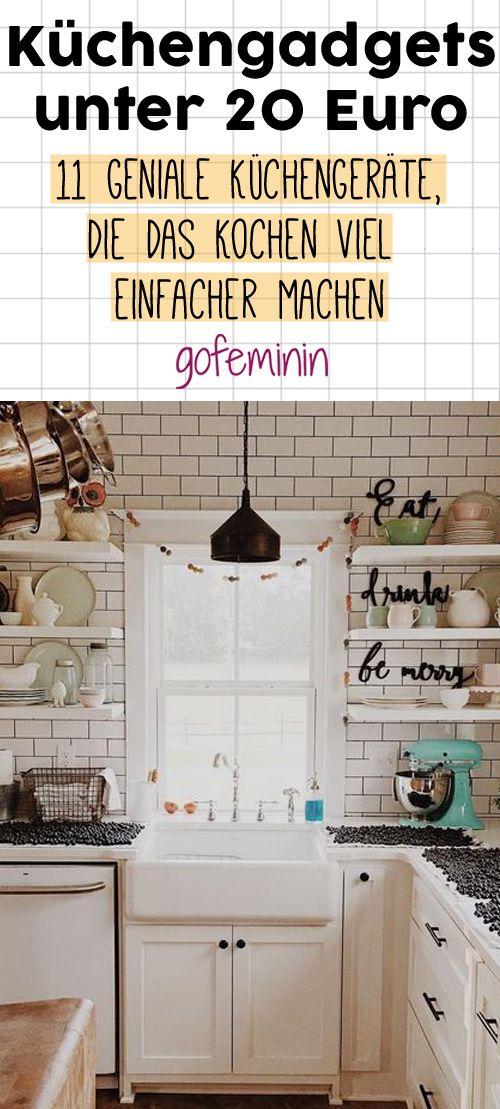 Küchen-Upgrade: 11 geniale Gadgets unter 20 Euro, die sich jeder endlich gönnen sollte!