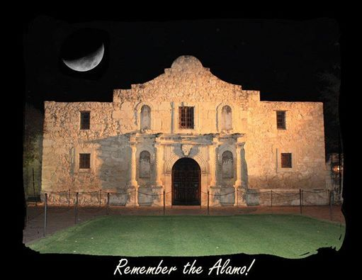 It's been exactly 178 years since the Mexican Army overran The Alamo in the early morning hours of March 6, 1836! The Battle of The Alamo started February 23, 1836 and ended 178 years ago today. Remember the heroes of The Alamo!