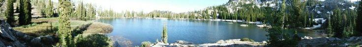 More from Blue Lake, Idaho. Above Cascade, Idaho near Snowbank Mtn.