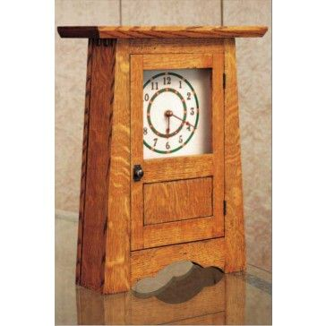Woodworker's Journal Craftsman Clock Plan| Rockler Woodworking & Hardware
