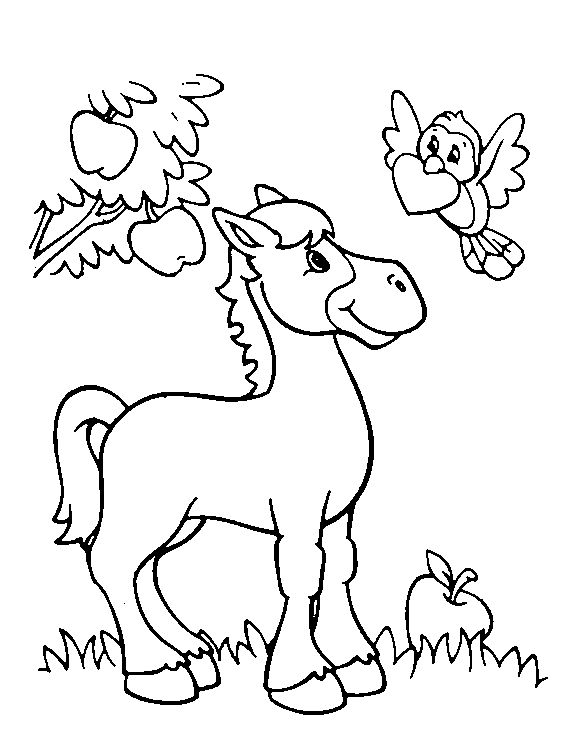 valentines day animals coloring pages - photo#5