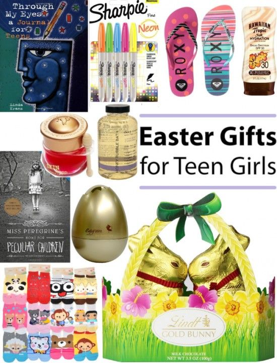 90 best gifts images on pinterest easter baskets gift basket easter gift ideas suitable for teen girls negle Gallery
