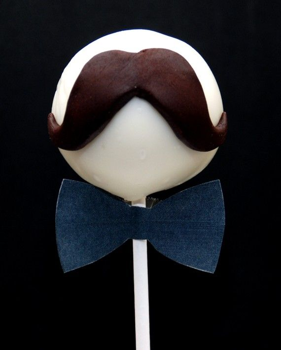 I mustache you a question... do you like cake pops? with stylish facial hair?