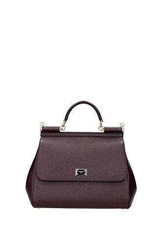 Dolce&Gabbana Borse a Mano Donna Pelle Viola #borse
