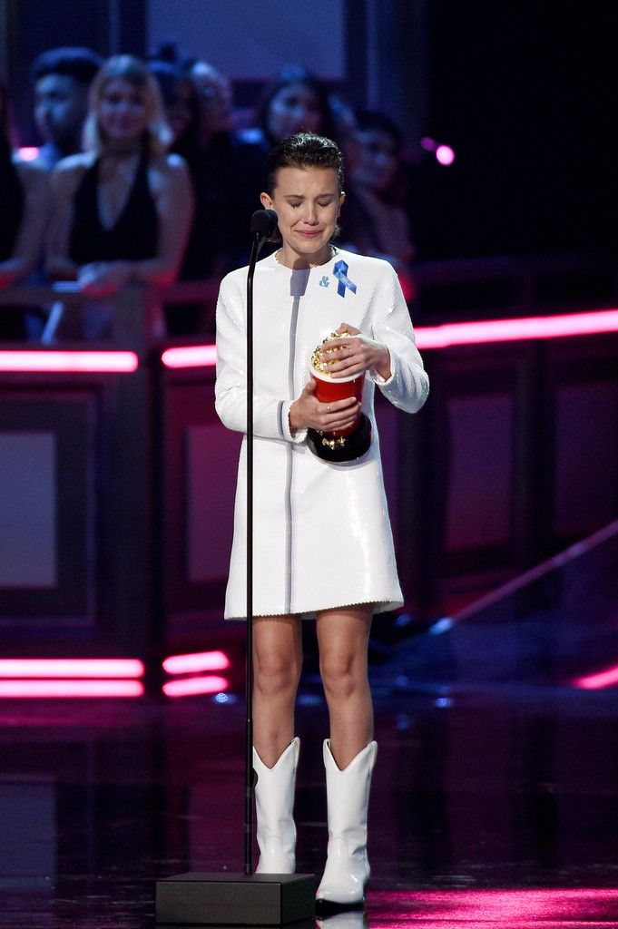Millie Bobby Brown Photos Photos - 2017 MTV Movie And TV Awards - Show - Zimbio