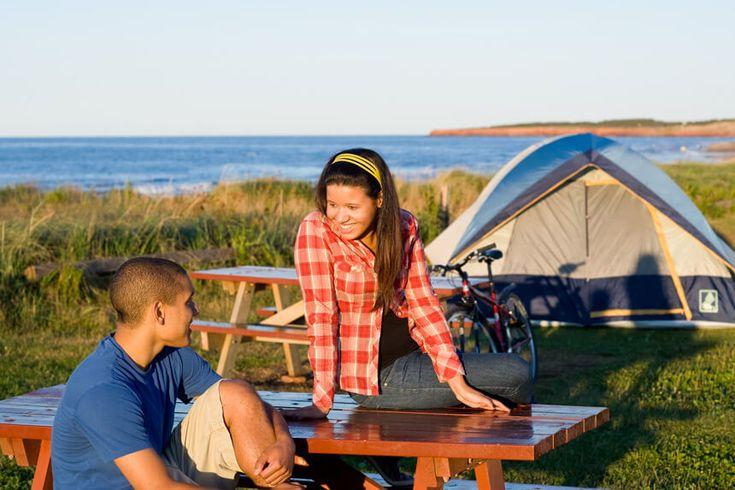 Camping au parc de l'Ile du Prince Edouard © Parcs Canada