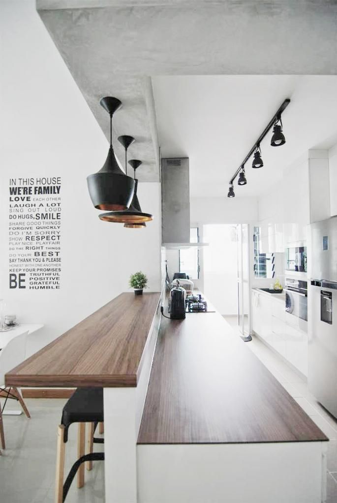 In Scandinavian kitchen design, you should value functionality more than taste – that is, less is more