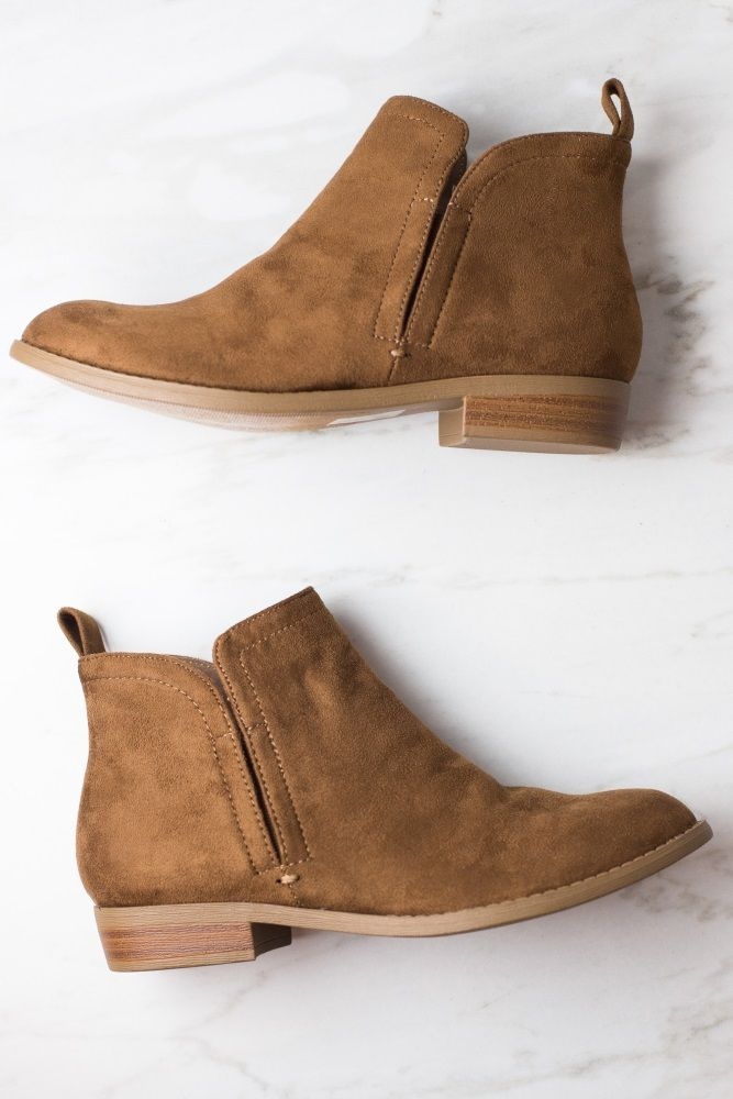 Pin by Aimee Jones on    Style      Low heel ankle boots, Tan ankle boots, Womens  boots ankle