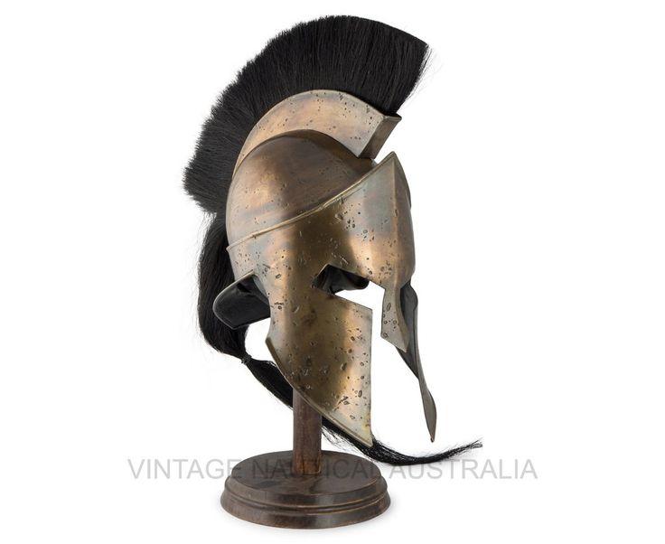 '300' Spartan Leonidas Armor Helmet